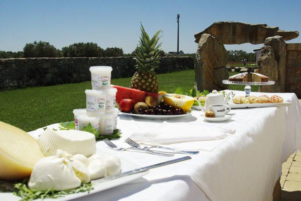 tavolo con i prodotti della nostra azienda