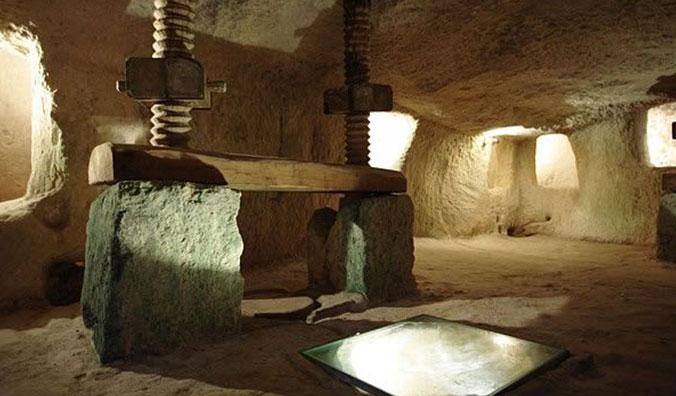 The underground oil mill