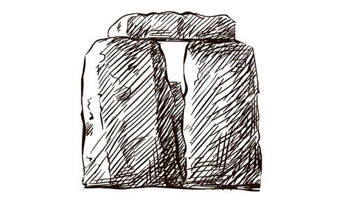 disegno megalite